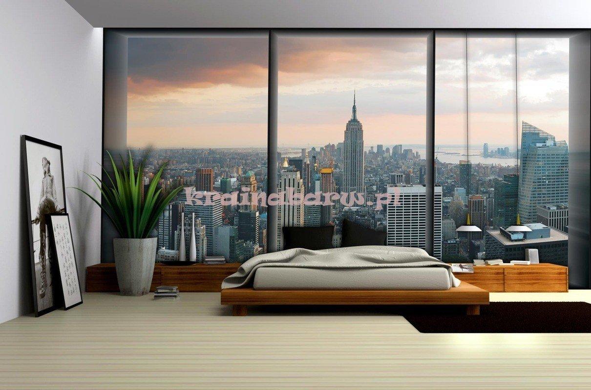 Szara sypialnia do luftu projektowanie wn trz forum for Finestra new york