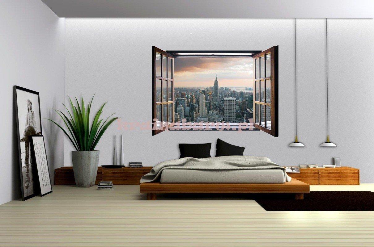 Fototapeta na flizelinie 824VEZ4 Nowy Jork widok przez   -> Kuchnie I Tapety