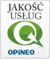 Jakość usług - Q - Opineo