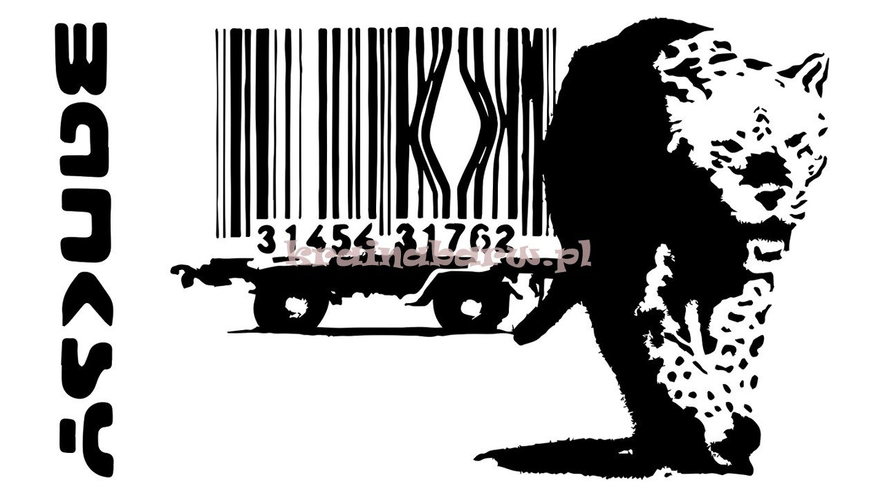 Naklejka Na Sciane Banksy Spnb195ts Naklejki Naklejki Do Pokoju