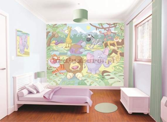 Fototapeta 3D 036 Baby Jungle Safari