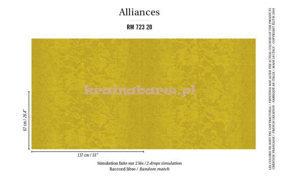tapeta RM 723 20 Alliances Joyau