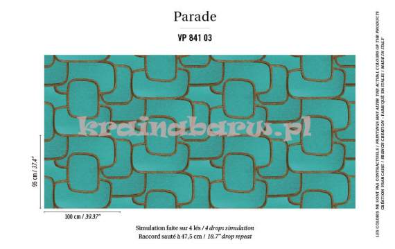 tapeta VP-841-03 Parade / Reflecto