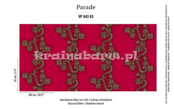 tapeta VP-843-03 Parade / Dolce